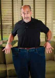 Bob Alesiani has lost 110 pounds since undergoing weight-loss surgery
