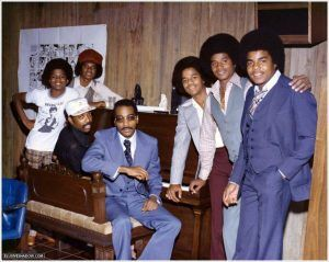 Huff and Gamble with The Jacksons